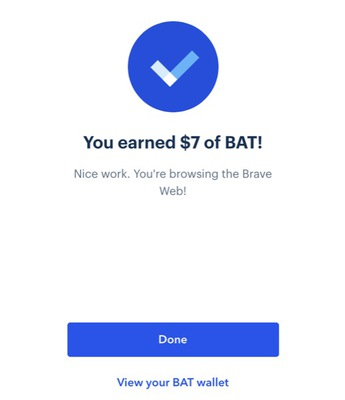 Free BAT money