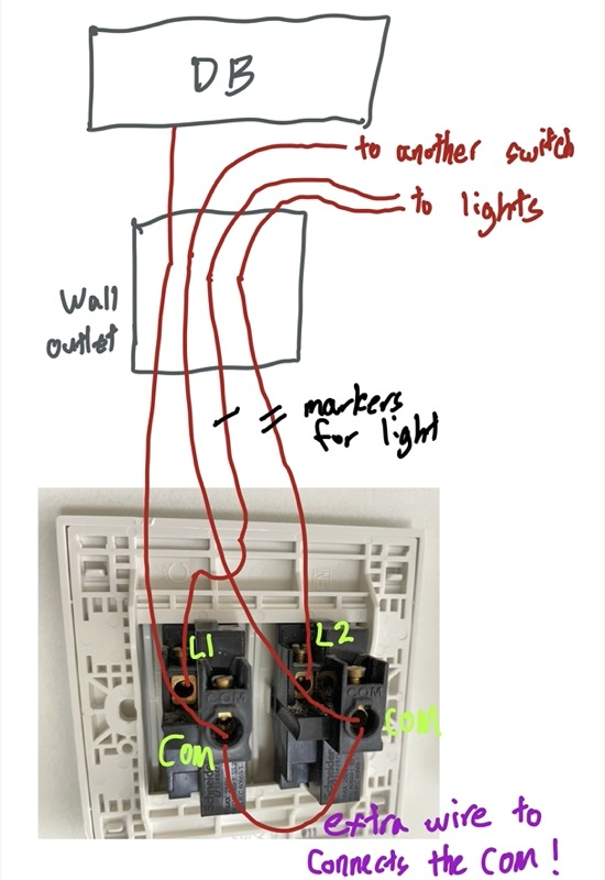 How To Change A Light Switch Just2me, Electrical Wiring Diagram Light Switch
